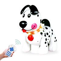 儿童电动玩具音乐狗遥控机器狗触摸感应会唱歌跳舞