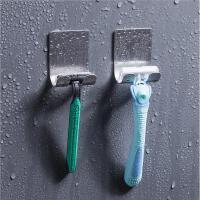 多功能不锈钢插头挂钩门后强力粘钩壁挂剃须刀挂架免钉钩