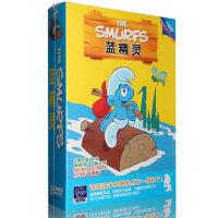 正版 蓝精灵5DVD全集28集 经典动画卡通片光盘dvd碟片 国语/英语