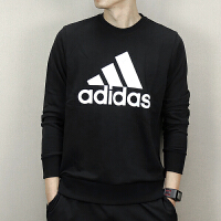 adidas阿迪达斯2018新款男子运动休闲圆领卫衣针织套衫CD6275