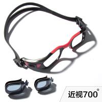 游泳眼镜 高清透光防水防雾 可拆卸可调节镀膜男女通用泳镜