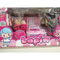 儿童玩具 超市收银机过家家玩具套装女孩宝宝儿童早教益智礼盒装生日礼物 粉红色