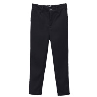 儿童开学季表演礼服西装裤 童装2017新款韩版黑色休闲长裤 黑 色