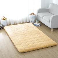 法兰绒加厚床垫被床褥子单人1学生0.9m宿舍1.5五2双人1.8米5一1.9