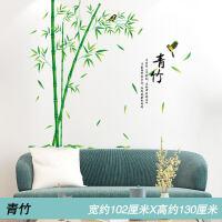 墙画贴纸温馨中国风年画墙贴纸客厅卧室墙壁房间床头装饰墙画自粘墙纸贴画 特大