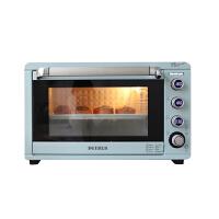 柏翠(petrus)电烤箱家用烘焙多功能全自动45L大容量蛋糕面包烤箱 PE5450 浅雾蓝