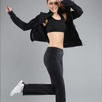 春夏女士瑜伽套装 健身运动三件套女工字背心7分裤长裤选