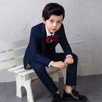 男童西服套装钢琴演出服儿童西装春中大童礼服