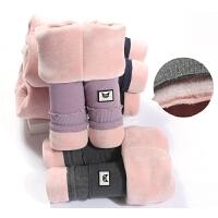 女童冬装棉裤儿童三层宝宝打底裤外穿中小童保暖裤子