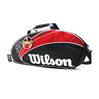 Wilson/威尔胜 Wilson Federer三支装 网球包 WRZ833203 费德勒系列网球包 运动包