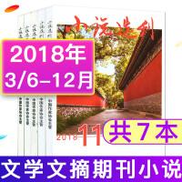【共11本打包】小说选刊杂志2018年1/3/4/5/6/7/8/9/10/11/12月中短篇小说大型文学过期刊