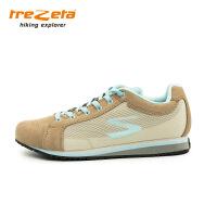 意大利trezeta/山悦女士户外超轻网格旅行鞋徒步鞋女士休闲鞋