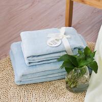 毛毯加厚单人宿舍学生夏季盖毯法兰绒婴儿沙发空调毯办公室午睡毯 简柔-法兰绒盖毯 咖啡色