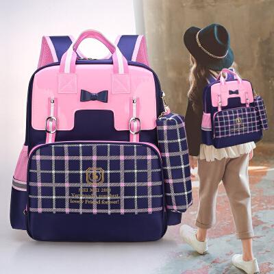 书包小学生6-12周岁 可爱公主双肩包3-5年级女童背包 1-3年级女孩