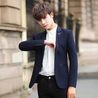 秋冬季男士休闲西服韩版上衣青年小西装修身青少年秋季小西服外套