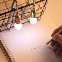 创意灯泡防尘塞中性笔0.38mm黑色水笔针管笔学生签字笔