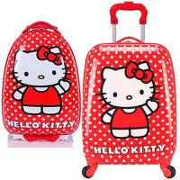 行礼拉箱女拉扦箱拉杆箱儿童书包女宝宝旅行箱小学生行李箱16寸18寸拖拉箱可爱卡通行里拖箱