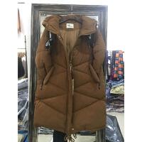 P3棉衣女中长款棉袄新款韩版潮过膝冬季外套面包女装1.15