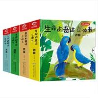 生命的奇迹立体书系列 共4册(精)