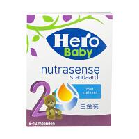 Herobaby天赋力荷兰本土婴幼儿奶粉原装进口婴幼儿配方奶粉 白金版-2段(6-12个月)