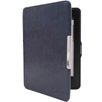 沐阳 MY-KP02 Kindle Paperwhite专款休眠皮套 磁扣疯马纹带手托