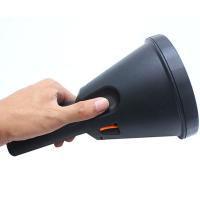 400W超亮大头防水强光手电筒充电式LED探照灯户外远射超疝气巡逻