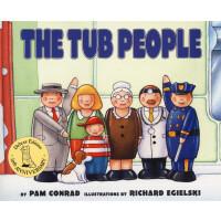 拇指人(20世纪经典童书)【英文原版】The Tub People