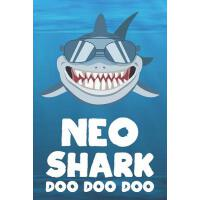 【预订】Neo - Shark Doo Doo Doo: Blank Ruled Name Personalized &