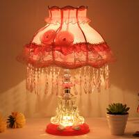 欧式公主床头灯可爱女孩儿童温馨浪漫创意现代简约夜灯卧室小台灯