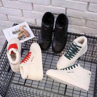 环球棉鞋女冬季保暖加绒短靴学生休闲女鞋百搭雪地靴