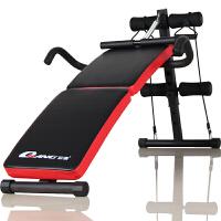 多功能折叠仰卧板仰卧起坐健身器材男腹肌板家用小型减肚子收腹器 折叠仰卧板