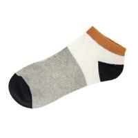 美特斯邦威男常年款肌理短袜273358