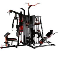 多功能单人站综合训练器力量健身运动器械家用室内健身房