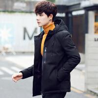 羽绒服男冬季新款户外短款韩版青年学生外套商务休闲羽绒服潮