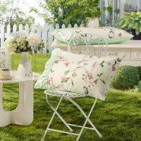 水星家纺 全棉枕套单件床品 夏沫之晨枕套一对 夏沫之晨枕套(绿色)