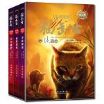 猫武士六部曲(1-3套装)