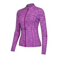 瑜伽服外套女跑步长袖上衣速干修身显瘦健身服拉链开衫运动外套
