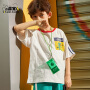 小虎宝儿男童新款T恤短袖2021年儿童装纯棉夏装韩版中大童