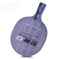 乒乓球拍底板 王皓技术乒乓球底板 5+2层/劲极12 直拍短柄
