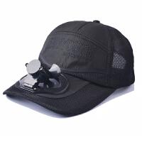 �L扇USB�敉獾巧铰糜畏��和�男女夏季����帽子��舌�W球男女旅SN2439 可�{�