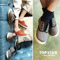 英伦风防滑软底童鞋时装款儿童帆布鞋