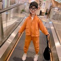 女童春装套装女孩中大童春款工装服儿童装运动两件套
