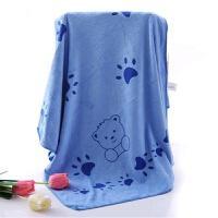 加厚加大浴巾男女裹胸棉吸水儿童新生儿宝宝婴儿浴巾 140x70cm