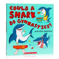 学乐 英文原版绘本 如果是海洋的:鲨鱼可以健身吗?What If an Ocean: Could a Shark Do
