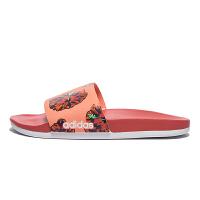 【7.18开抢 满100减20 满279减100】Adidas阿迪达斯 女鞋 2018新款休闲沙滩拖鞋耐磨凉拖鞋 DB