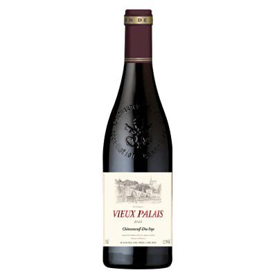 老教凰教皇新堡干红葡萄酒