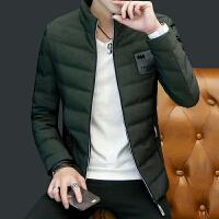 男士羽绒服轻薄保暖薄款韩版潮流冬季防寒服帅气修身款中青年外套