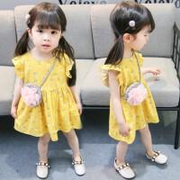 女童连衣裙夏季韩版2婴儿童0-1-3岁女宝宝裙子夏天小童碎花公主裙