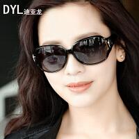 女士偏光太阳镜新款防紫外线眼镜女潮长脸圆脸墨镜