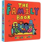 英文原版 The Family Book 纸板书 淘弟有个大世界系列 纽约时报畅销书作家 Todd Parr 儿童家庭
